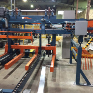 AUTOMATED WOOD PACKAGES UNSTACKER