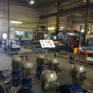 REFURBISHING AND MODERNIZATION OF PRODUCTION EQUIPMENTS